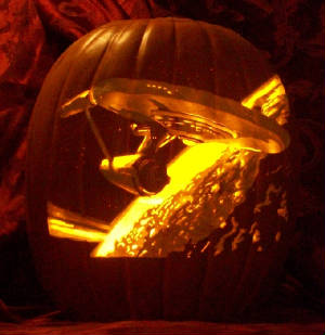 Carved pumpkins perfect for tv fans geek halloween decorations star trek pumpkin carving pronofoot35fo Image collections