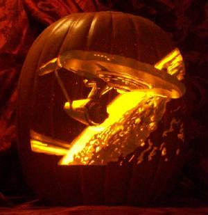 Star Trek Pumpkin Carving